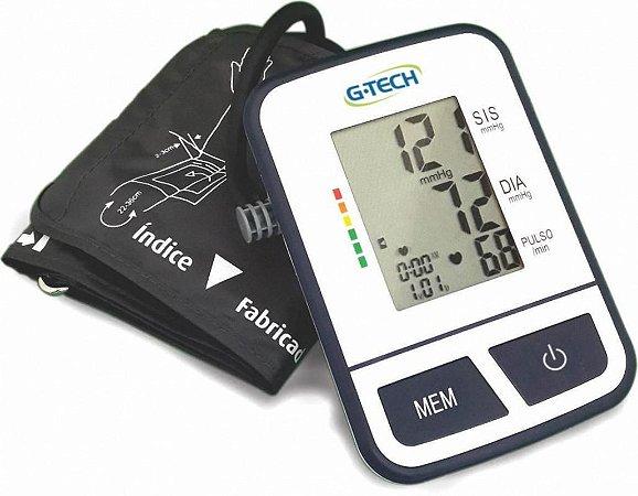 Aparelho Monitor De Pressão Arterial Digital De Braço BSP11 G-Tech