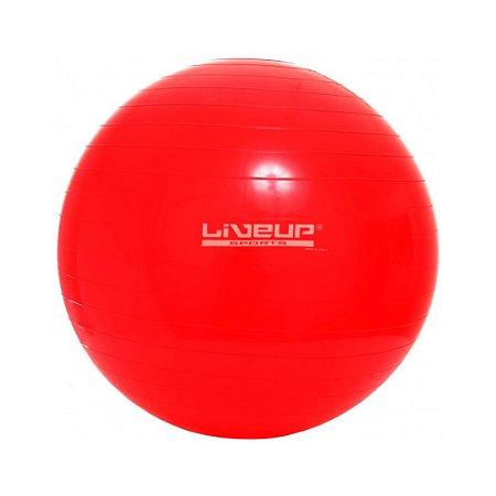 Bola de Pilates 45cm Vermelha - Premium - Liveup