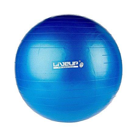 Bola de Pilates 65cm Azul - Premium - Liveup