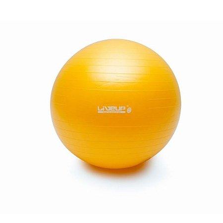 Bola de Pilates 75cm Amarela - Premium - Liveup