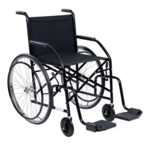 Cadeira de Rodas em Aço Carbono Pneus Infláveis Roda em Nylon CDS 102 - CDS