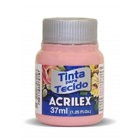 Tinta de Tecido Acrilex Rose 37Ml
