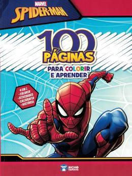 100 Páginas de Colorir Spiderman - Curitiba