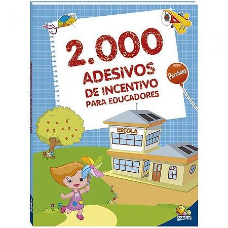 2000 Adesivos de Incentivo para Educadores - Editora Todo Li
