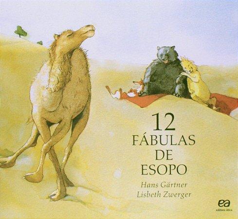 12 Fábulas De Esopo - Editora Ática