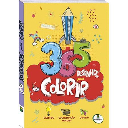 365 Desenhos para Colorir - Todo Livro