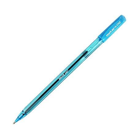 Caneta Molin 1.0 A-One Azul Celeste