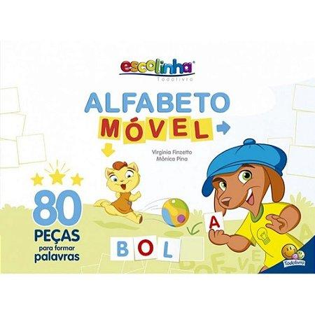 Alfabeto Móvel Todo Livro 80 peças