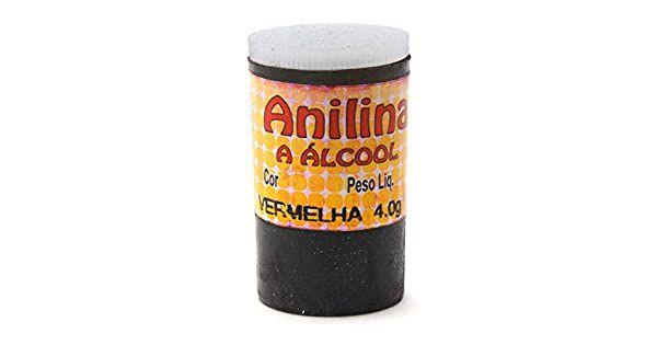 Anilina a Álcool Glitter Vermelha 4G