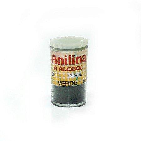 Anilina a Álcool Glitter Verde 6G