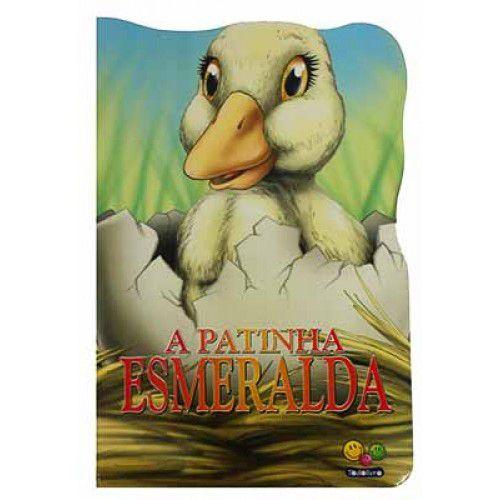 Animais Recortados A Patinha Esmeralda - Editora Todo Livro