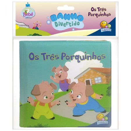 Banho Divertido Três Porquinhos