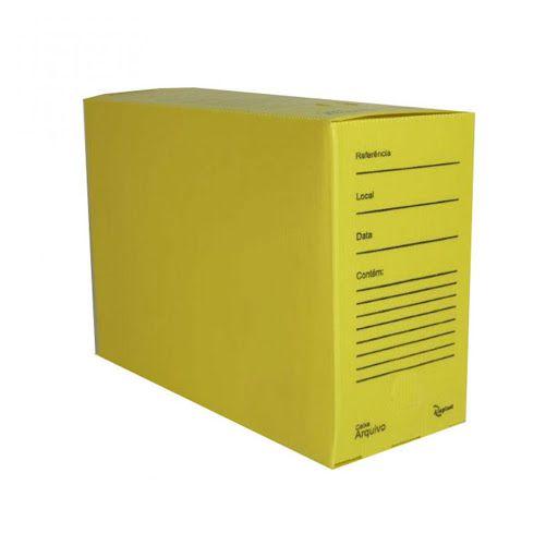 Arquivo Morto Alaplast Amarelo