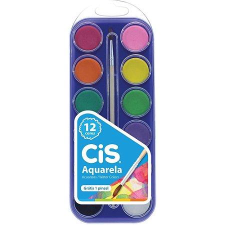 Aquarela Cis com 12 Unidades