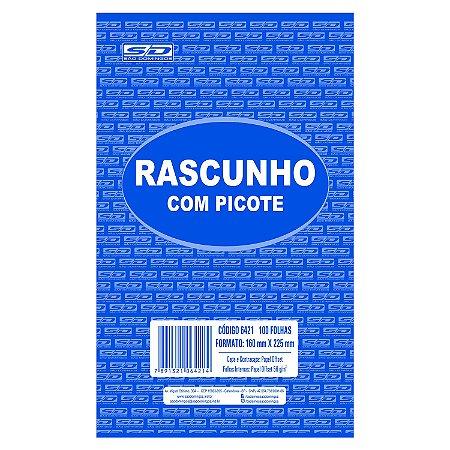 Bloco de Rascunho São Domingos 160mmx225mm