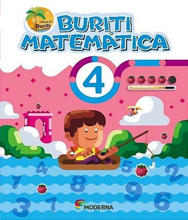 Buriti Matemática 4ºano - Editora Moderna