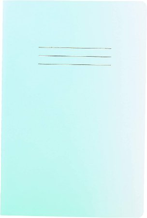 Caderneta Cicero Verde sem Pauta 64 folhas 14X21cm