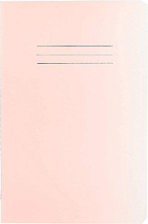Caderneta Cicero Rosa sem Pauta 64 folhas 14X21cm