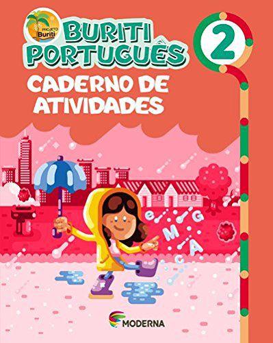 Buriti Português 2ºano Caderno de Atividades - Editora Moder