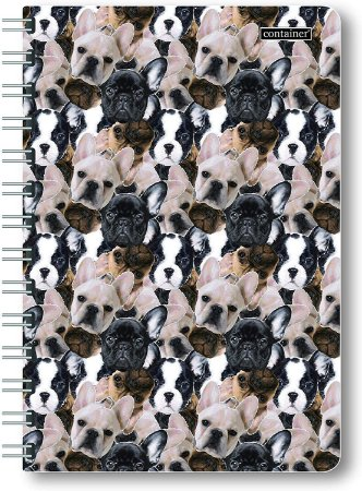 Bullet Journal Container Dogs 80 folhas