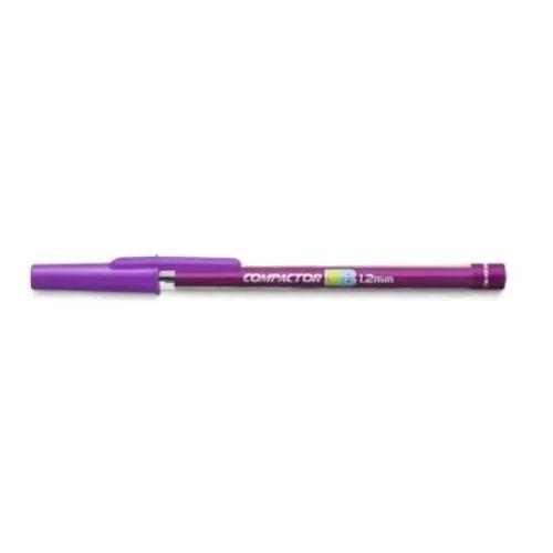 Caneta Compactor 1.2 Violeta 07B