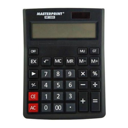 Calculadora Masterprint Mp1089 12 Dígitos