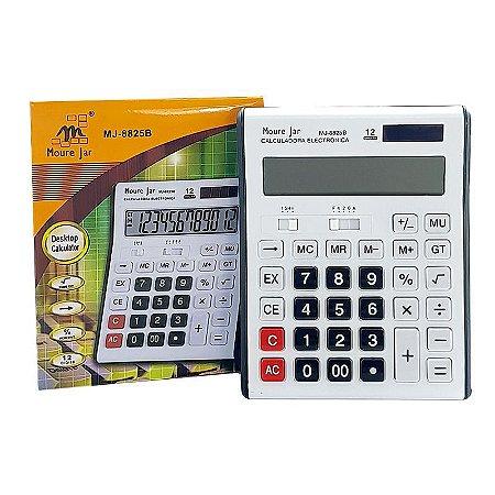 Calculadora MJ de Mesa 8825B 12 Dígitos