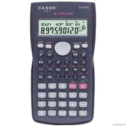 Calculadora Casio Científica Fx-82 Ms