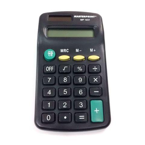 Calculadora Masterprint Mp1031 8 Dígitos