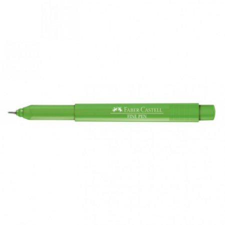 Caneta Faber Castell 0.4 Grip Finepen Verde Claro
