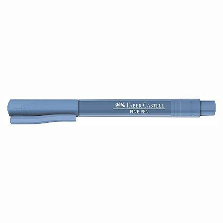 Caneta Faber Castell 0.4 Grip Finepen Azul Claro