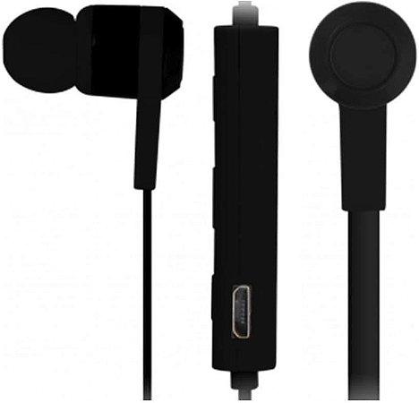 Earphone Freedom Maxprint com Microfone Bluetooth Preto