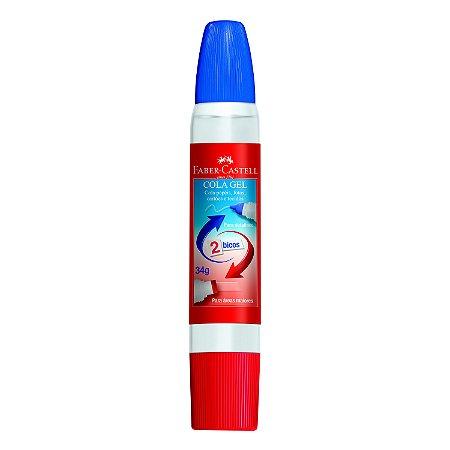 Cola em Gel Faber Castell 2 Bicos 34G