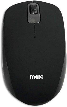 Mouse Maxprint Ótico Rubber Usb 1000Dpi Preto