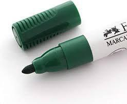 Marcador Quadro Branco Faber Castell Verde