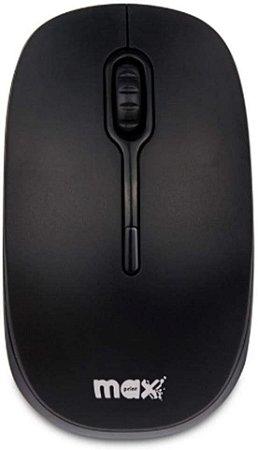 Mouse Maxprint Ótico Soft 1200Dpi Usb Preto
