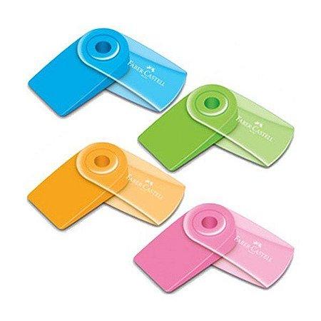 Borracha Faber Castell Mini Sleeve Colors