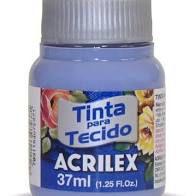 Tinta de Tecido Acrilex Azul Ardósia 37Ml