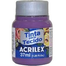 Tinta de Tecido Acrilex Amora 37ML