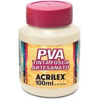 Tinta Pva Acrilex Fosca Marfim 100Ml
