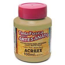 Tinta Pva Acrilex Fosca Camurça Queimada 100Ml