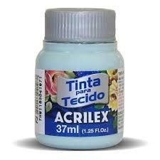 Tinta de Tecido Acrilex Verde Glacial 37ML