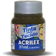 Tinta de Tecido Acrilex Sépia 37Ml