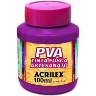 Tinta Pva Acrilex Fosca Magenta 100Ml