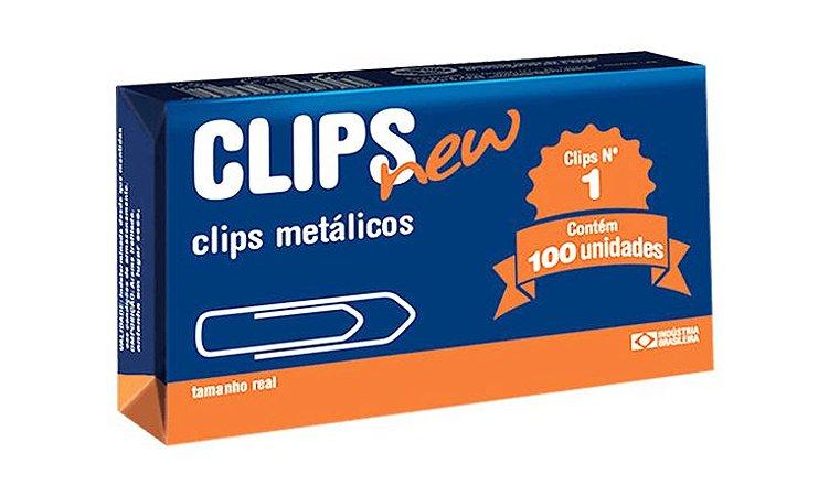 Clips New 1 100 Unidades