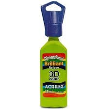 Dimensional Acrilex Verde Maçã 35Ml