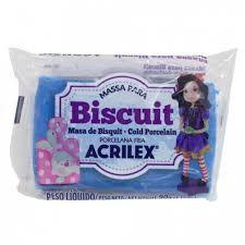Massa de Biscuit Acrilex Azul Cobalto 90G