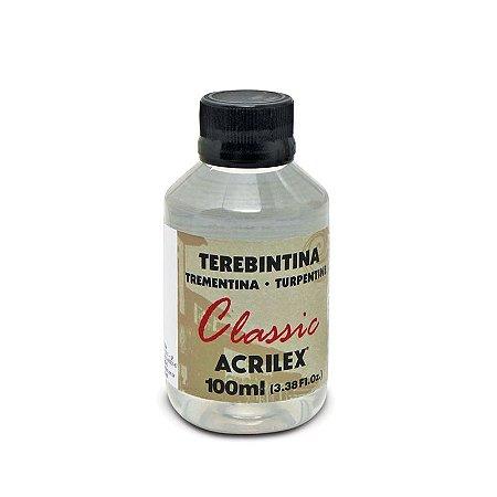 Terebintina Acrilex Classic 100Ml