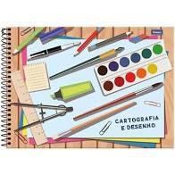 Caderno de Desenho Foroni Espiral Capa Dura 48 folhas