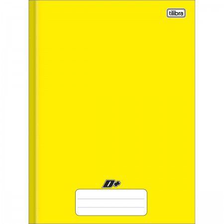 Caderno Tilibra 1x1 Mais Amarelo Brochura 48Fls